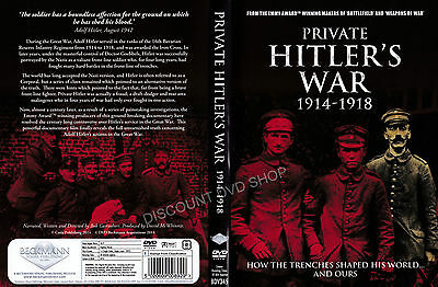 Private Hitler's War. How the Trenches shaped his world and ours. New DVD
