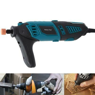 126pcs Electric Rotary Tool Drill Grinder Engraver Sander Polisher Kit 35000rpm