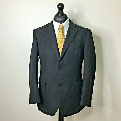 Mens Taylor And Wright Grey Pinstripe Suit. 44/38