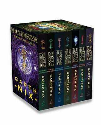 NEW The Keys to the Kingdom Complete Collection By Garth Nix Free Shipping