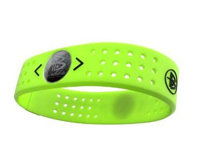 (TG. L) Power Balance, Polsiera in silicone Evolution, Giallo (volt), L - NUOVO