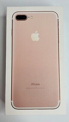 Apple iPhone 7 Plus A1661 Rose Gold 32 GB Empty Box Only NO PHONE Included