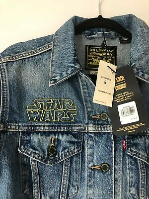 Levis x Star Wars Ex Boyfriend Trucker Jeansjacke Limited Edition