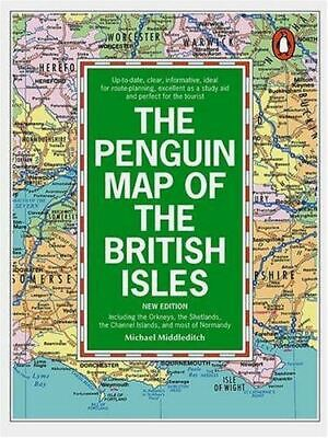 The Penguin Map Of The British Isles: Including The Orkneys, The Shetlands, The