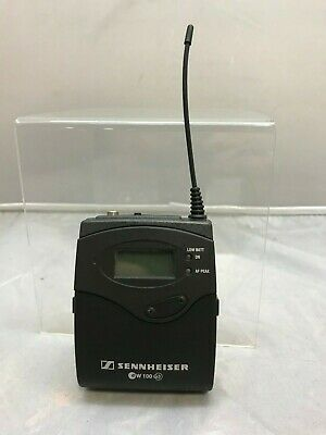 Sennheiser SK 100 G3 Wireless Bodypack Transmitter Frequency Range B