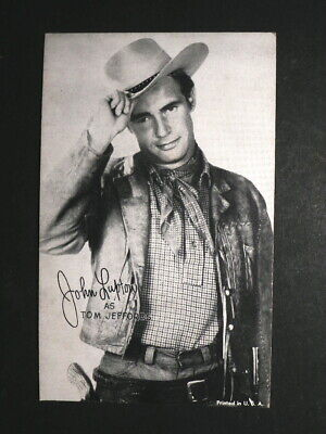 Charles Buck Jones Cowboy Arcade Card 1950/'s