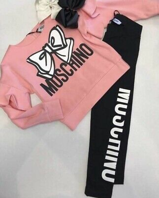 Moschino Set Age 14 Top And Leggings Bnwt Paid £229