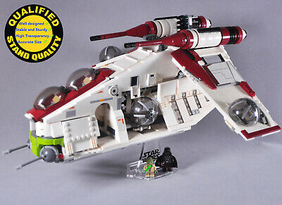 Display Stand for Lego 75021 7676 7163 Republic Gunship Starwars (stand only)