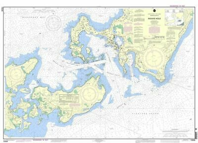 NOAA Nautical Chart 13235: Woods Hole