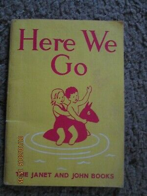 Janet & John, Here We Go book - to help with your child's reading