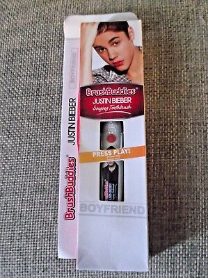Brush Buddies Justin Bieber Singing Toothbrush -  BoyFriend