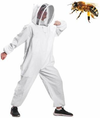 Protear Beekeeping suit Super Thick Foldable Fencing Smock Front With Zipper L