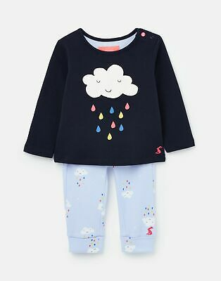 Joules  208569   Jersey Screenprint Top And Trousers Set in  Size 6min9m