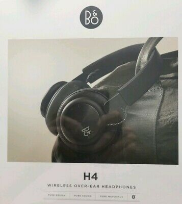 Bang & Olufsen  H-4 Wireless Over-Ear Headphones - Black NEW FAST FREE SHIPPING