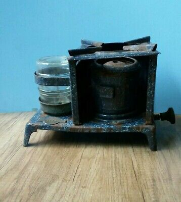 Antique old Porcelain enamel  Kerosene stove