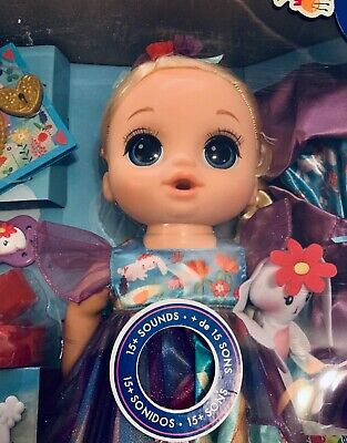 Baby Alive Once Upon a Baby: Forest Tales Emma Blonde 15+ Sounds Great Gift