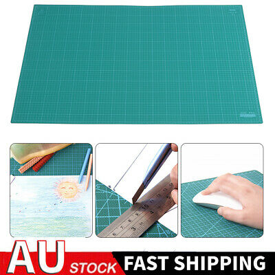 AU Stock A1 Thick 5-Ply Self Healing Craft Cutting Mat 2-Side Print Quilting