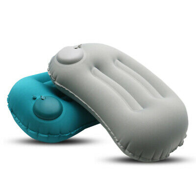 Soft Inflatable Pillow Outdoor Pillow Office Portable Travel Camping Cushion