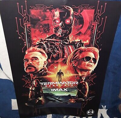 "L@@K - TERMINATOR DARK FATE LIMITED EDITION 13""x19"" IMAX POSTER - BUY IT NOW"