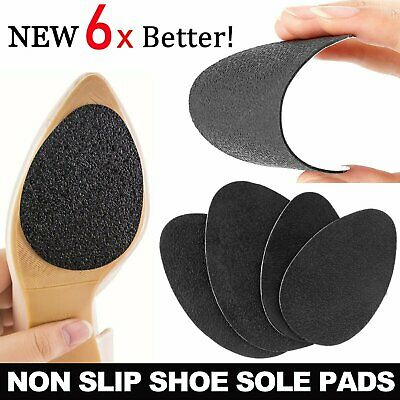 Women 3 pairs Shoes Heel Sole Grip Protector Pads Non-Slip Cushion Variety AU