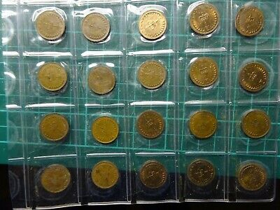 1/2 Penny Big Collection Original Coins From 1979 - 1982 Incl Uncirculated