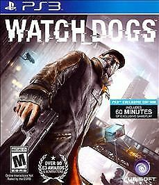 Watch Dogs (Sony PlayStation 3, 2014) DISC IS MINT