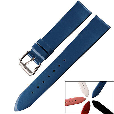 Patent Leather Watch Band Mens or Womens Ladies Strap 12mm 14mm 16mm 18mm 20mm