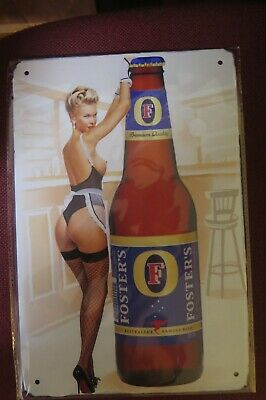 fosters beer SIGN MAN CAVE SIGN