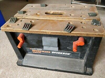 Workmate WM450 Tool box / Mini work bench / Vice USED good cond