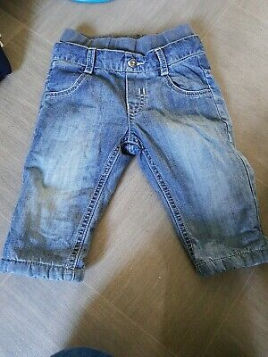 Baby Boys Timberland Jeans Age 6 Months