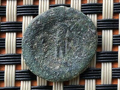 """Maroneia, Thrace Circa After 148 Bc Ae19 """"Dionysos"""" Ancient Greek Bronze Coin"""