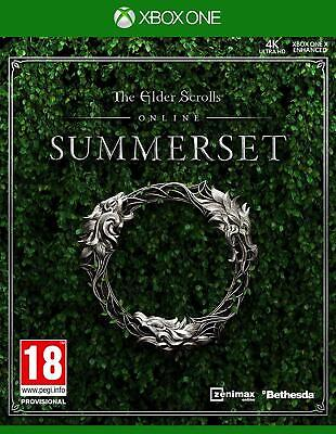The Elder Scrolls Online Summerset Xbox One **BRAND NEW & SEALED!!**