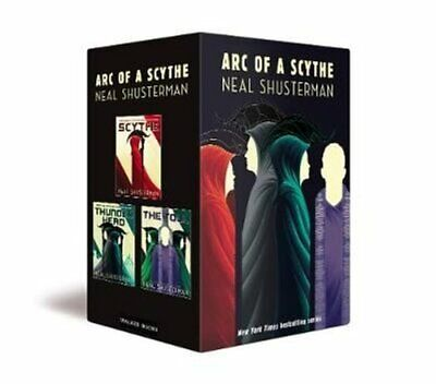 Arc of a Scythe Boxed Set by Neal Shusterman 9781406393644 | Brand New