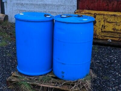 Hydraulic Oil  200 litres roughly.