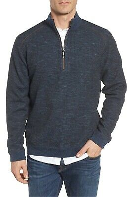 Tommy Bahama Flipsider Reversible Half-Zip Sweater (All Colors/Sizes)