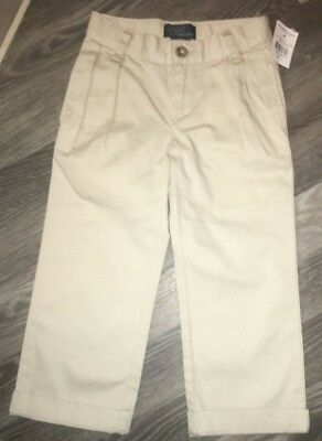 Ralph Lauren Age 3 Beige / Stone Chino Trousers New Tags
