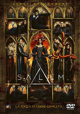 Salem - Stagione 3 Completa In Italiano (4 DVD)
