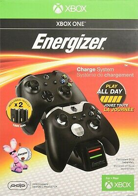 XBOX ONE ENERGIZER 2X Charging System BRAND NEW