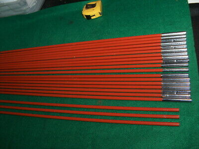 """One"" Fiberglass Tent Pole Replacements   23 1/4 inches long 3/8 diameter"