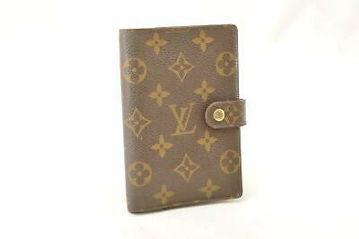 LOUIS VUITTON Monogram Agenda PM Old Model Day Planner Cover Auth cr168 **Sticky
