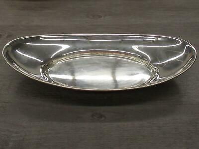 Gorham Sterling Silver Puritan Hollowware 4463 Bread Tray Vintage 12""