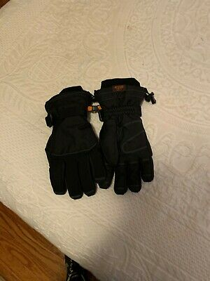 Red Head Black Snow Gloves Waterproof Ski Snowboard Winter Insulated SIZE LARGE