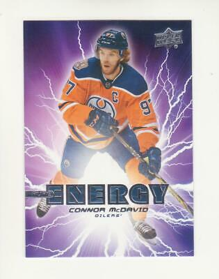 2019-20 Upper Deck Series 1 Pure Energy Pick From List PE-1 TO PE-50 (19-20) UD