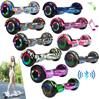 "6.5"" Hoverboard Bluetooth Electric Self Balance Scooter with Bag Hover Board"
