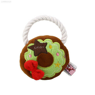 Cute Christmas Festival Pet Dog Doggy Chew Squeeze Squeaky Training Toys Gift