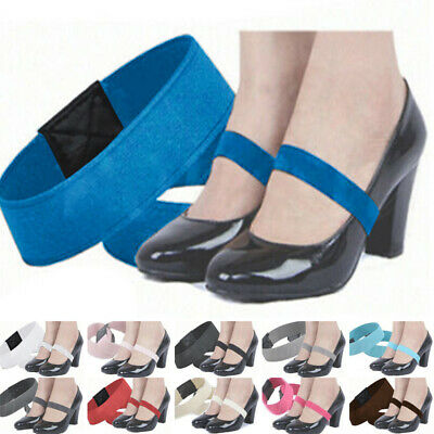 Women Shoelace Ladies Party Stretch High Heel Shoes Hold Shoelace Strap