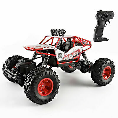 Newest Remote Control RC Big Wheel Kids Toy Car Monster Truck 2.4 GHz Fast Speed