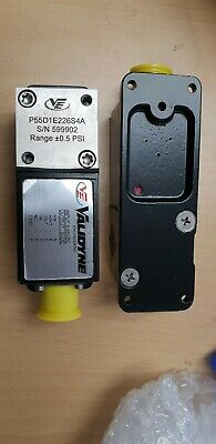 New Validyne Pressure Transducer And Transmitter P55D1E226S4A