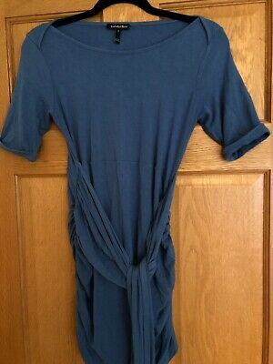Isabella Oliver Size 2 (10 UK) Blue Top With Waist Wrap