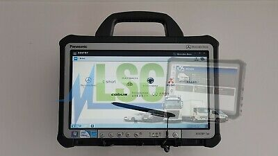 MB STAR Mercedes Xentry Diagnostic Tablet  for C4 C5  2019.12 6GB RAM